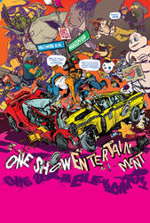 THE ONE SHOW 2010 CFE poster by nathanFOX