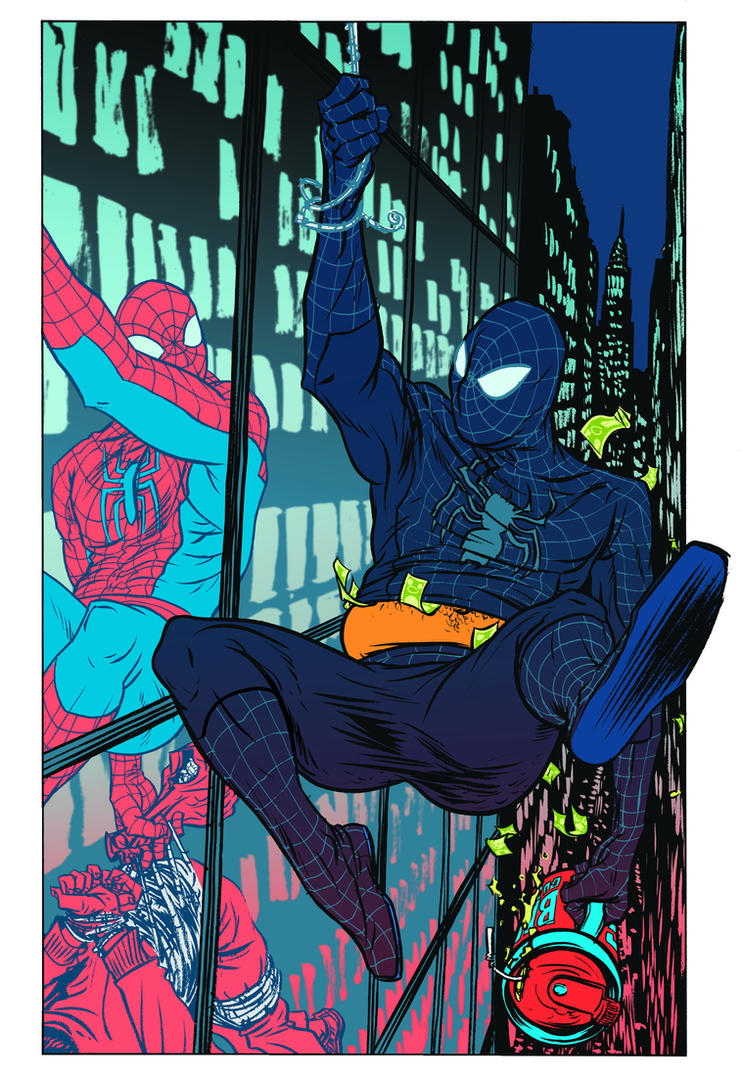 SPIDEY by nathanFOX