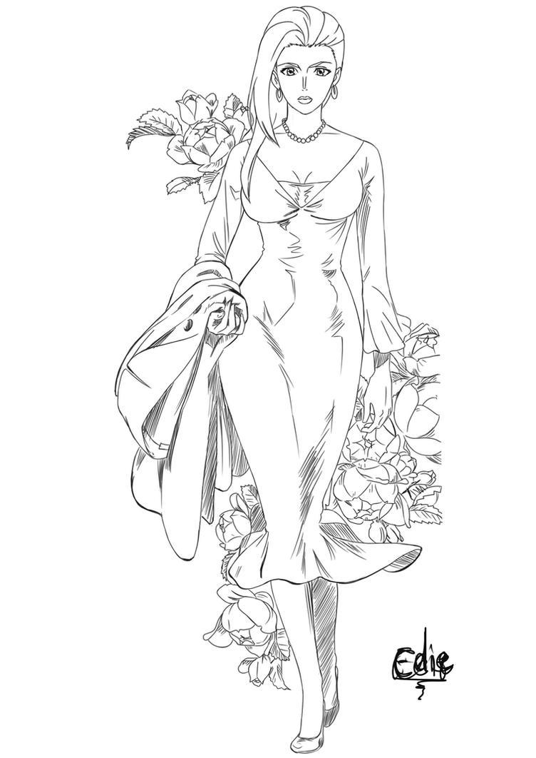 LisaLisa sketch by Ediiee