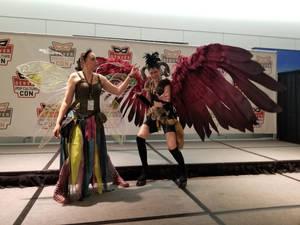 Riyoko Denver Comic Con 2019 Wings spread