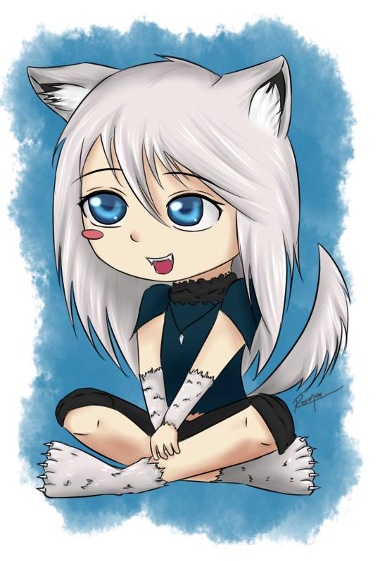 Krystal chibi by Rooxye125