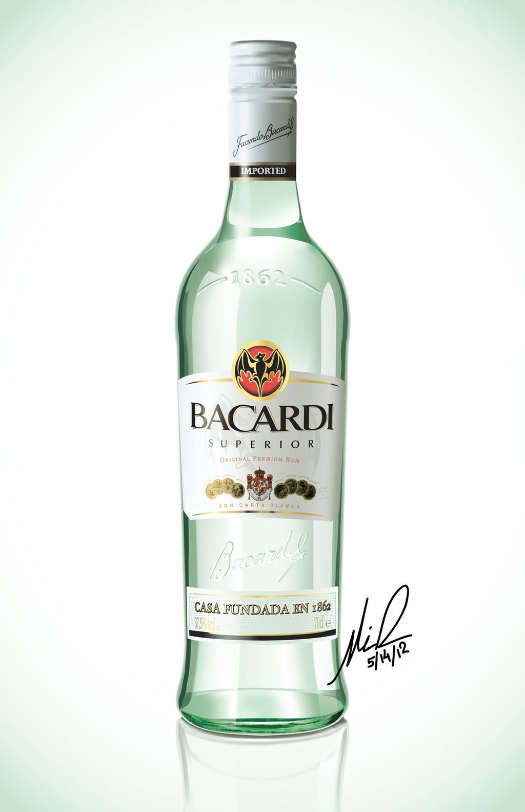 Bacardi Rum Vector by FajitaPitaGuy