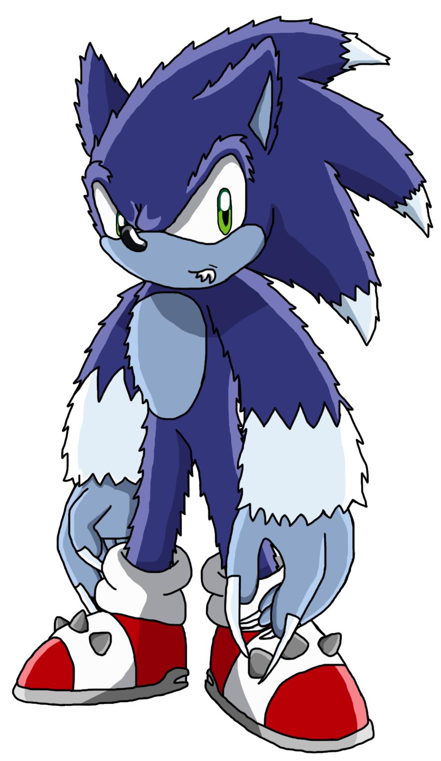 Sonic the WEREHOG - Finished by MatildaTheMoonwolf on ...