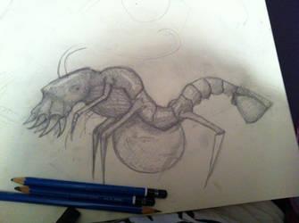 Ocean Monster - in progress by czoliveira