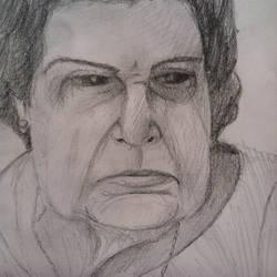 Grandma is not happy