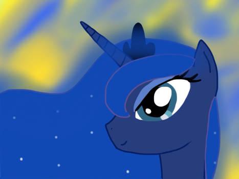 It's just Luna