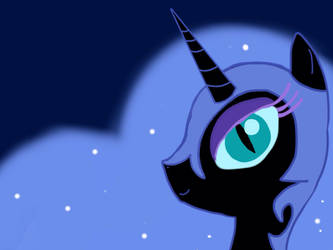 Aaaand now she is Nightmare Moon
