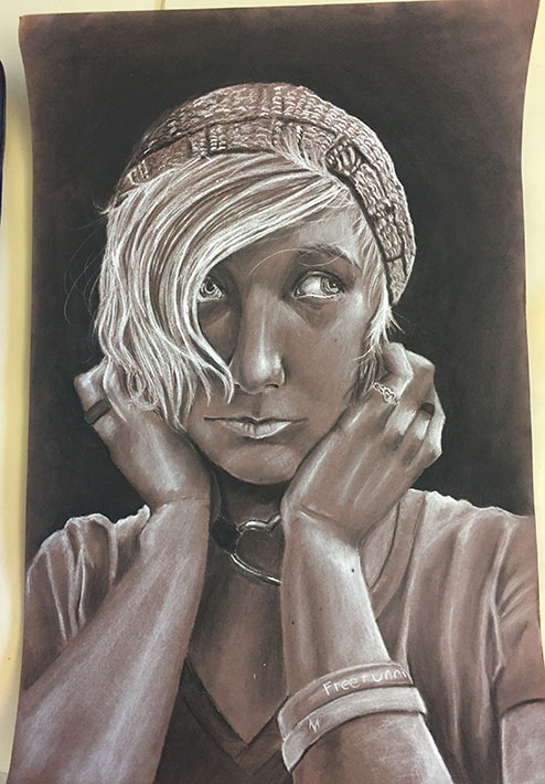 Self Portrait by HornsAndBows