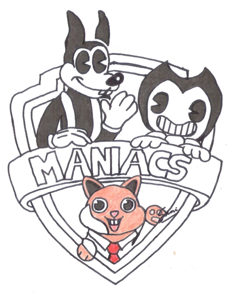 Bendy and the Ink Machine: It's Time for Maniacs! by TreeGecko