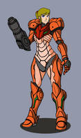 Retro Samus by AM05