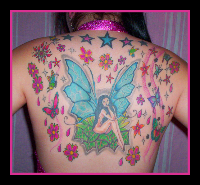 tattoo de mariposas. forget me not tattoos. forget