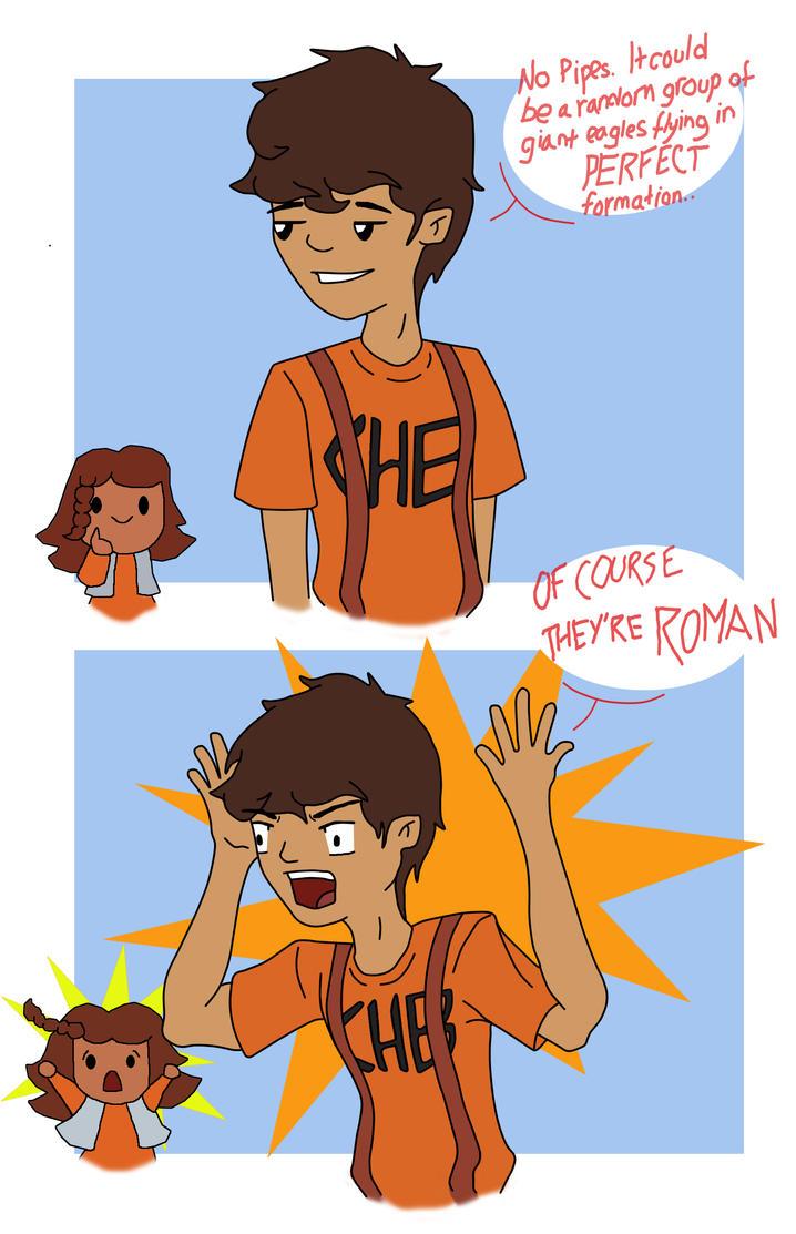 They're ROMAN! by Yatagarasu-san