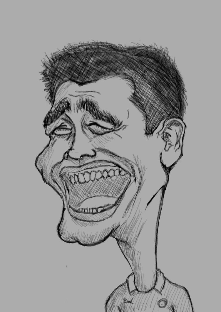 Yao Ming sketch by lepeART