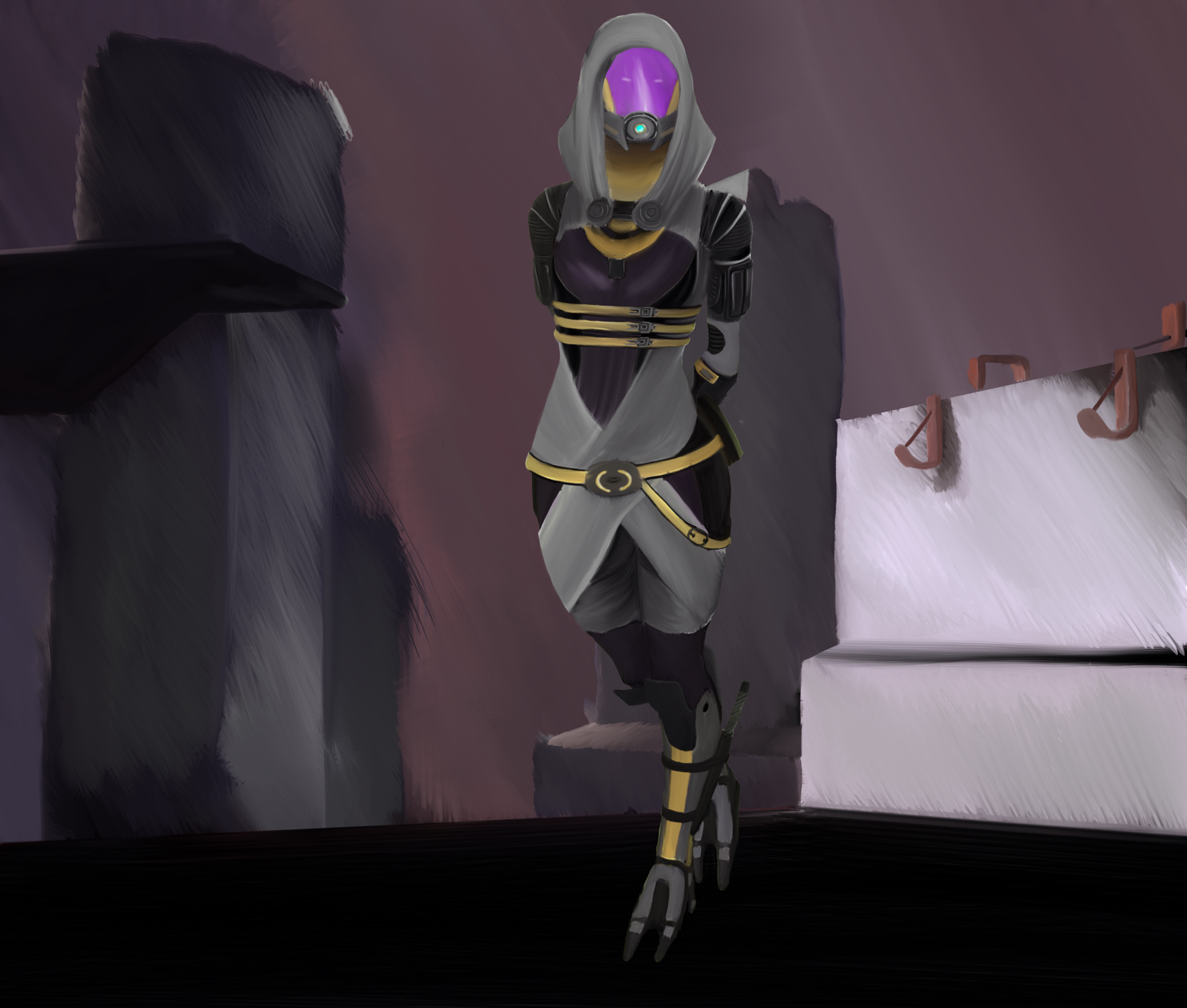 Tali'Zorah vas Normandy by Troodon80