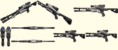 Mass Effect 2, M-92 Mantis Sniper Rifle Reference