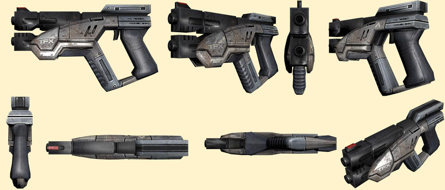 Mass Effect 2, M-3 Predator Reference by Troodon80