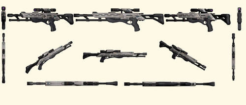 Mass Effect 2, M-97 Viper Sniper Rifle Reference