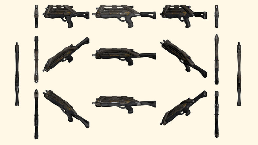 Mass Effect 2, M-15 Vindicator Reference by Troodon80