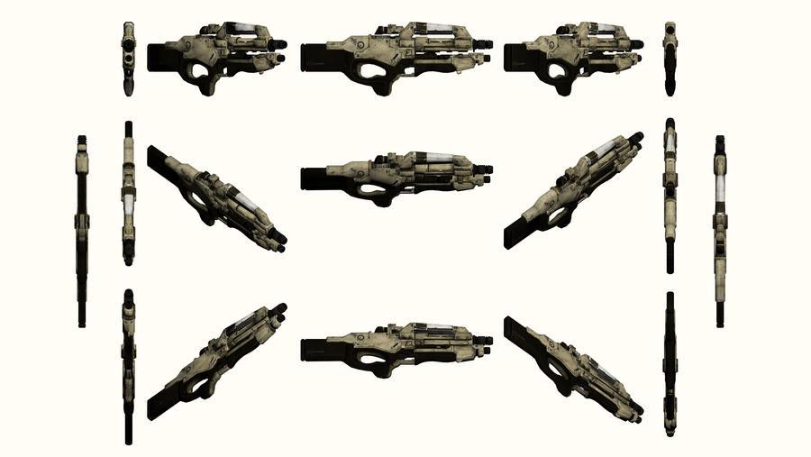 Mass Effect 2, M-96 Mattock Reference by Troodon80
