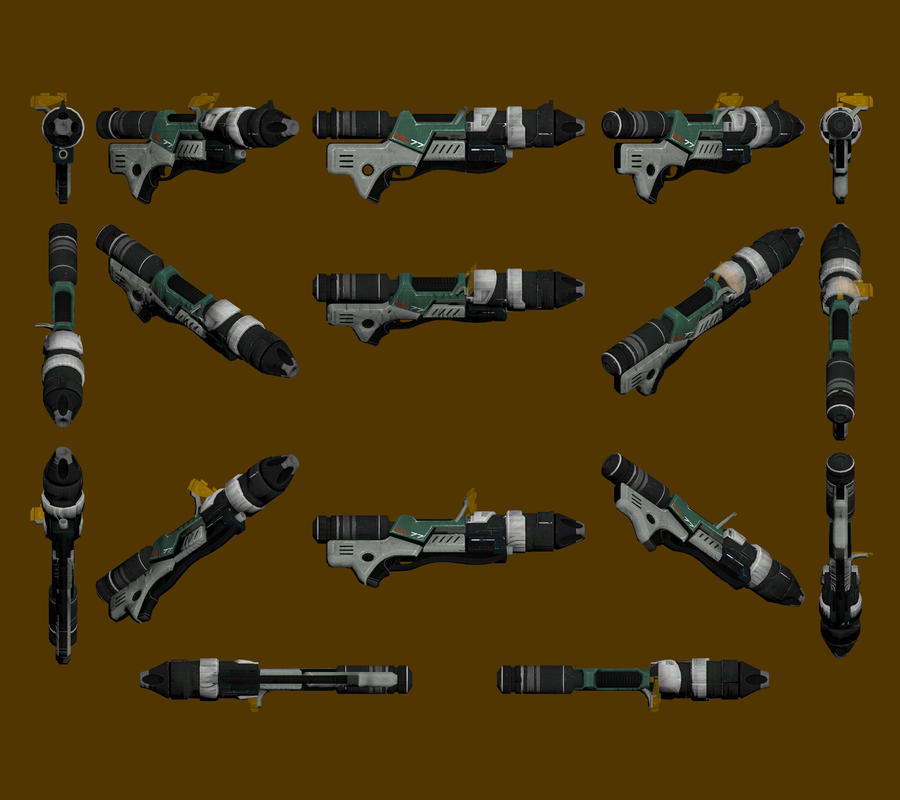 Mass Effect 2, ML-77 Missile Launcher Reference. by Troodon80