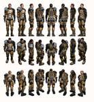 Mass Effect 2, Zaeed - Model Reference.