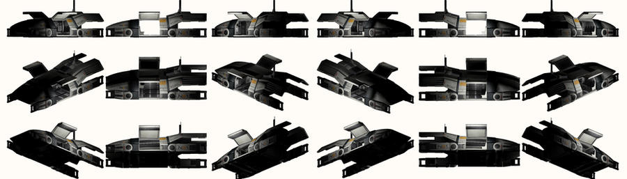 Mass Effect 2, Kodiak Shuttle Interior Reference. by Troodon80