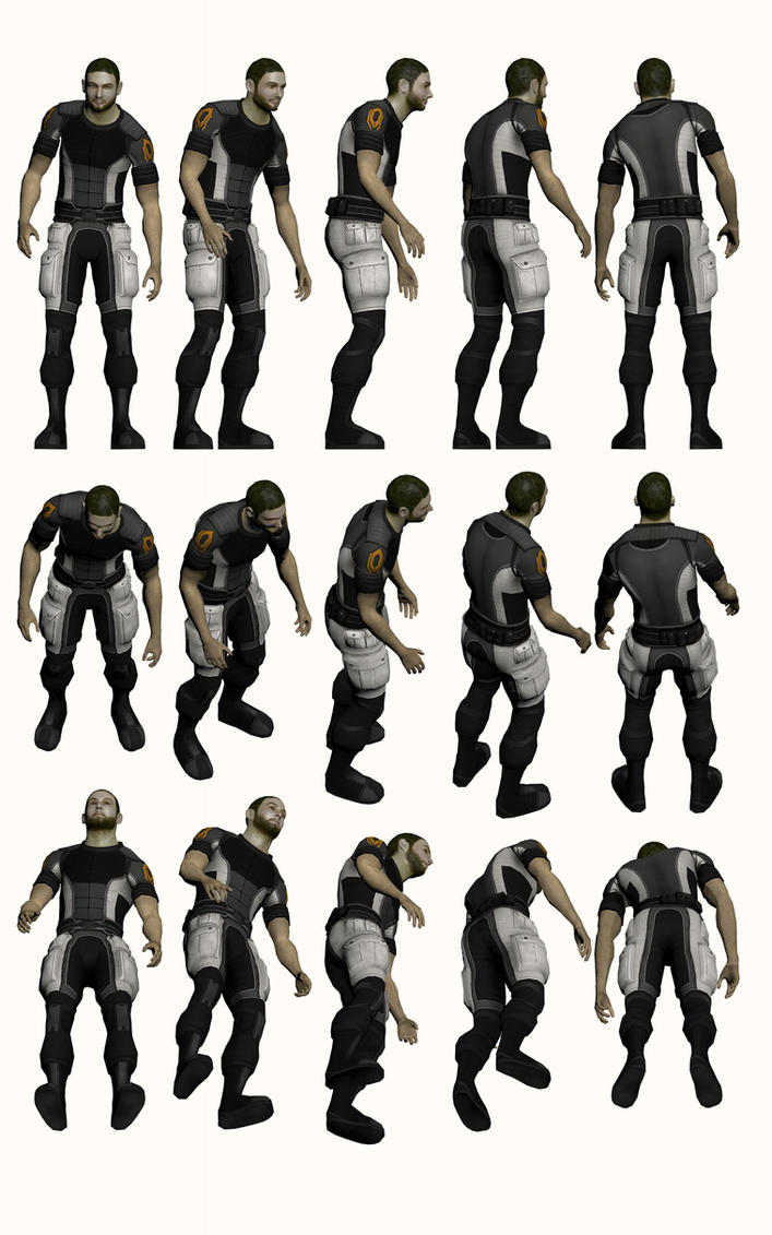 Mass Effect 2, Jeff 'Joker' Moreau Refer by Troodon80