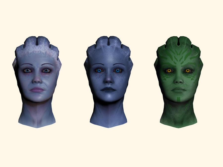 Request Skin Colour Overhaul Mod For Each Race General Mass