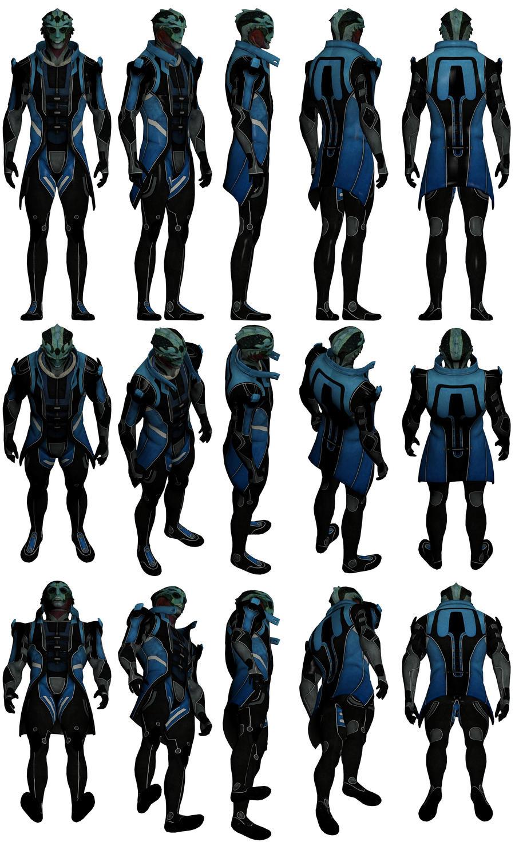 Mass Effect 2, Kolyat Reference. by Troodon80
