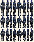 Mass Effect 2, Tela Vasir - Model Reference.