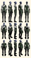 Mass Effect, Liara Casual - Reference. by Troodon80