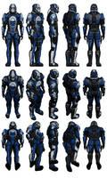 Mass Effect 2, Male Blue Suns Mercenary Reference