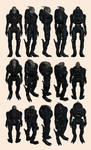 Mass Effect, Turian Medium Phantom-Duellist Armour
