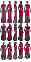 Mass Effect 2, Matriarch Aethyta Reference. by Troodon80