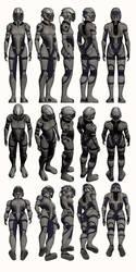 Mass Effect, Female Explorer Armour Medium by Troodon80