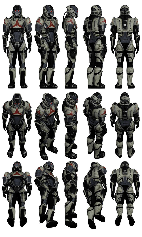 Mass Effect 2, Male Shadow Broker Mercenary by Troodon80