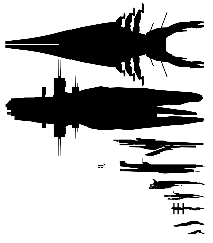 Mass Effect 2, Ship Comparison by Troodon80
