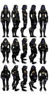 Mass Effect 3 - Tali Outfit #2