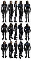 Mass Effect 3, Ashley - Armoured - Ref.