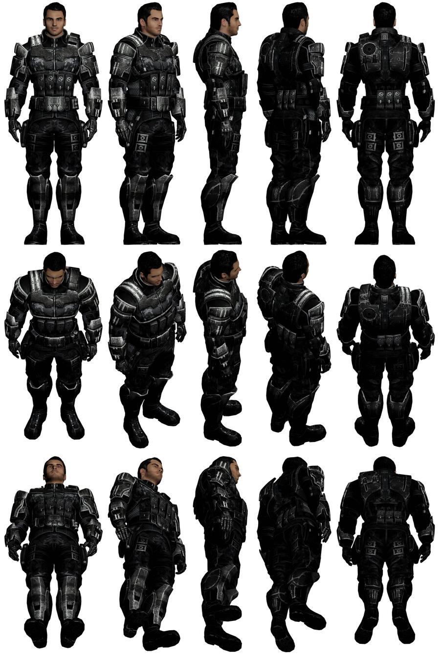 Mass Effect 3, Kaidan Reference. by Troodon80