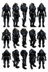 Mass Effect 3, Garrus Reference.