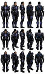 Mass Effect 3, Kaidan Armour.