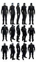 Mass Effect 3, Male Shepard - Alliance Uniform. by Troodon80