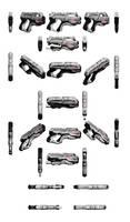 Mass Effect 3, M-77 Paladin Heavy Pistol Reference