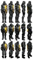 Mass Effect 3, Female Battlefield 3 Armour