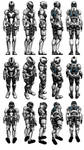 Mass Effect 3, Female Engineer Armour Reference.