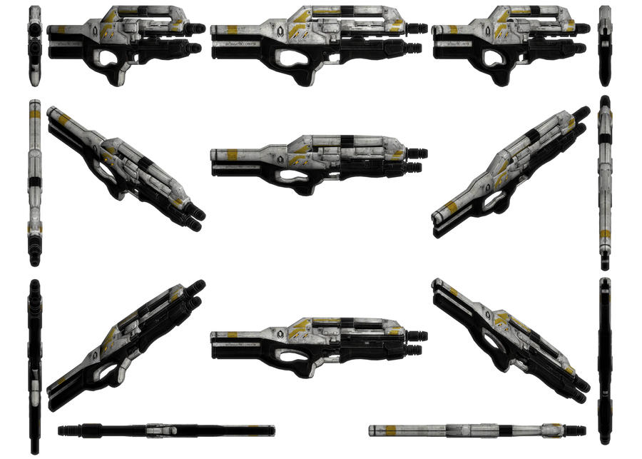 Mass Effect 3, MP Cerberus Harrier Ref. by Troodon80