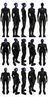 Mass Effect 3, MP Asari Adept Ref.