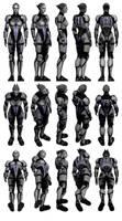 Mass Effect 3, MP Asari Justicar Ref.