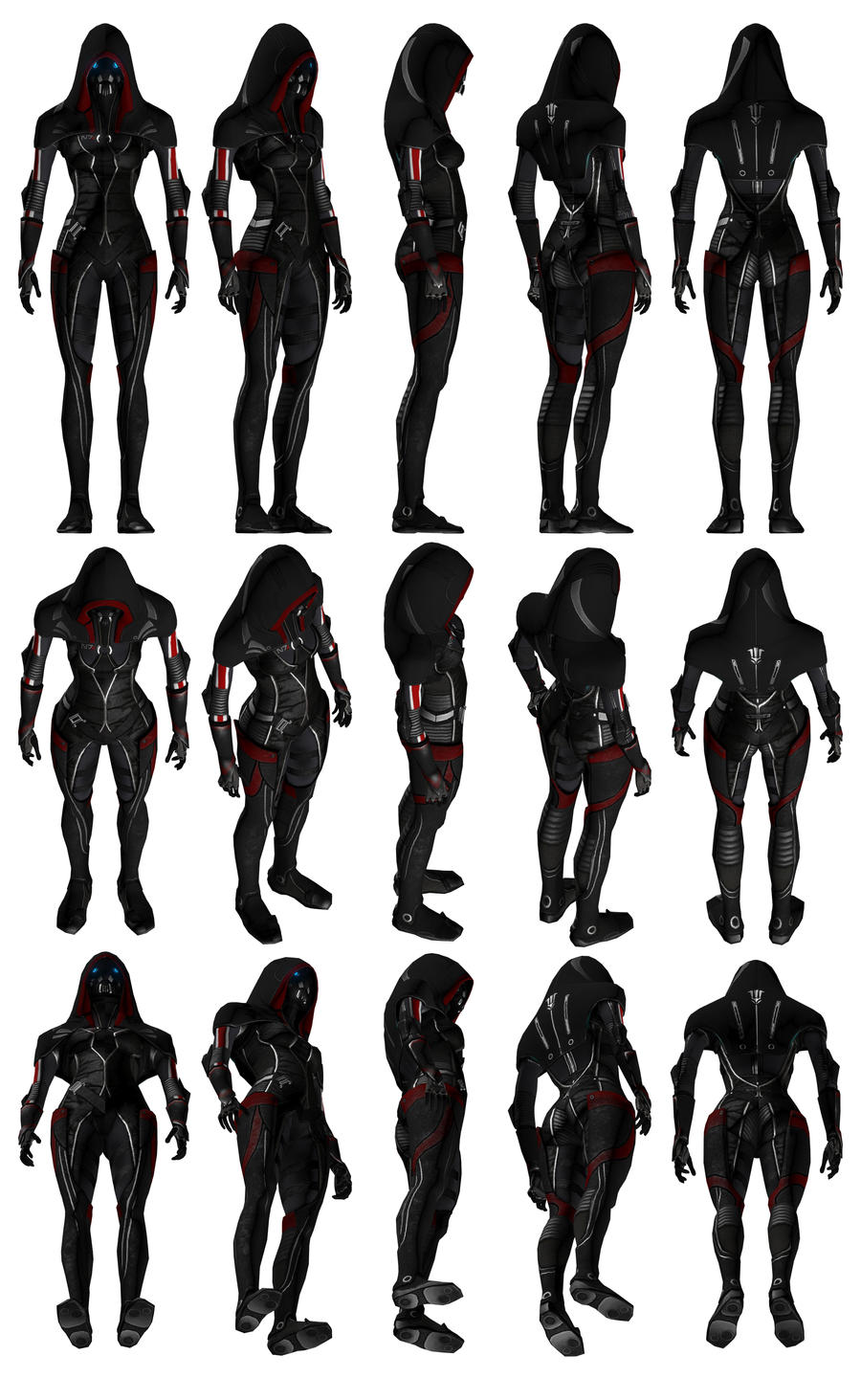 Mass Effect 3, MP N7 Fury Adept Ref. by Troodon80
